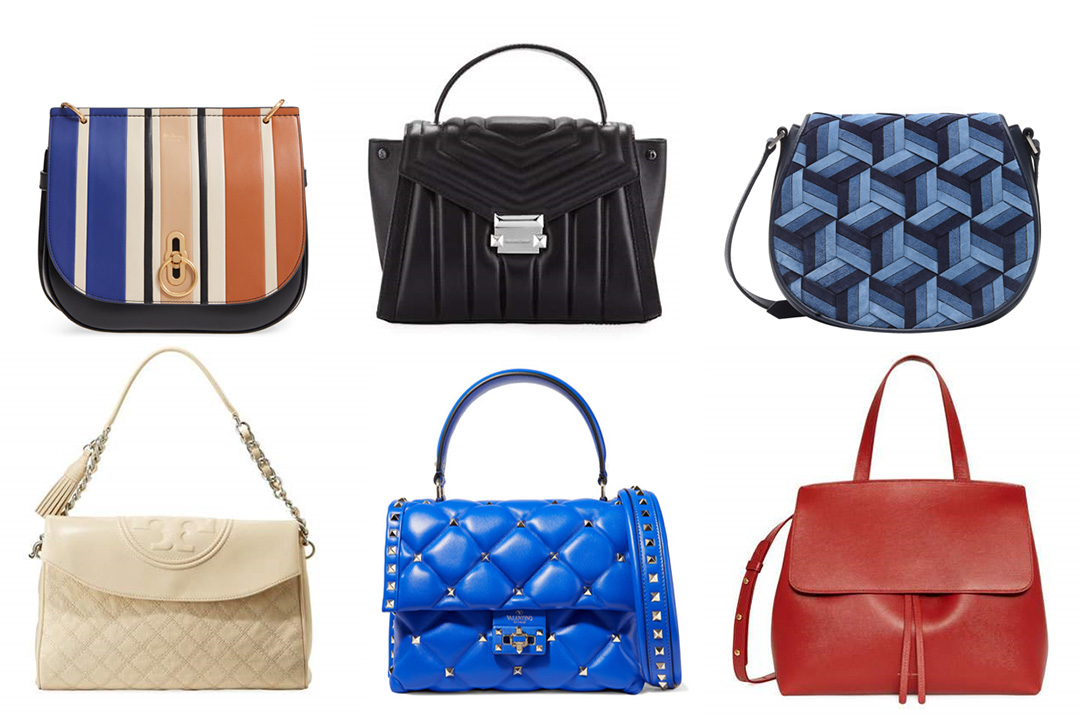 fall 2018 handbag trends saddle bags top flap satchels