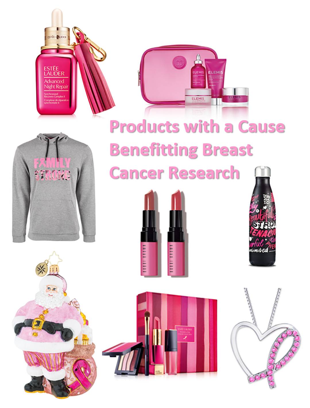 shop breast cancer awareness products 2018