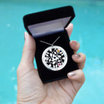 Personalized jewelry made in the USA by Messages in Metal