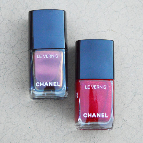 chanel holiday 2018 nail polish collection review