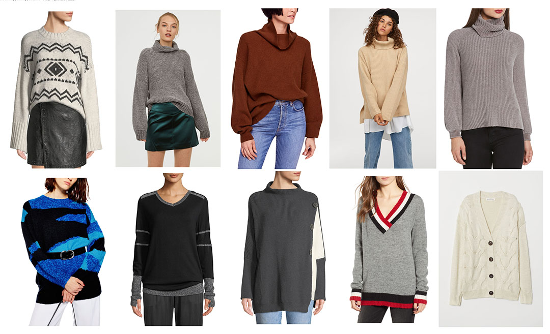 10 cozy sweaters for winter and fall