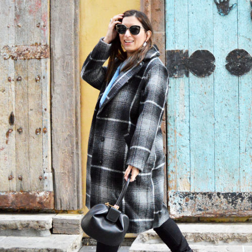 Fashionable winter coat under $100