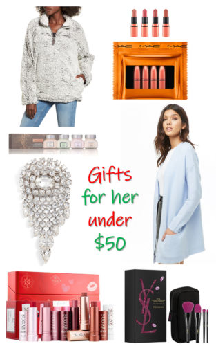 Holiday gift guide 2018: gifts for her under $50