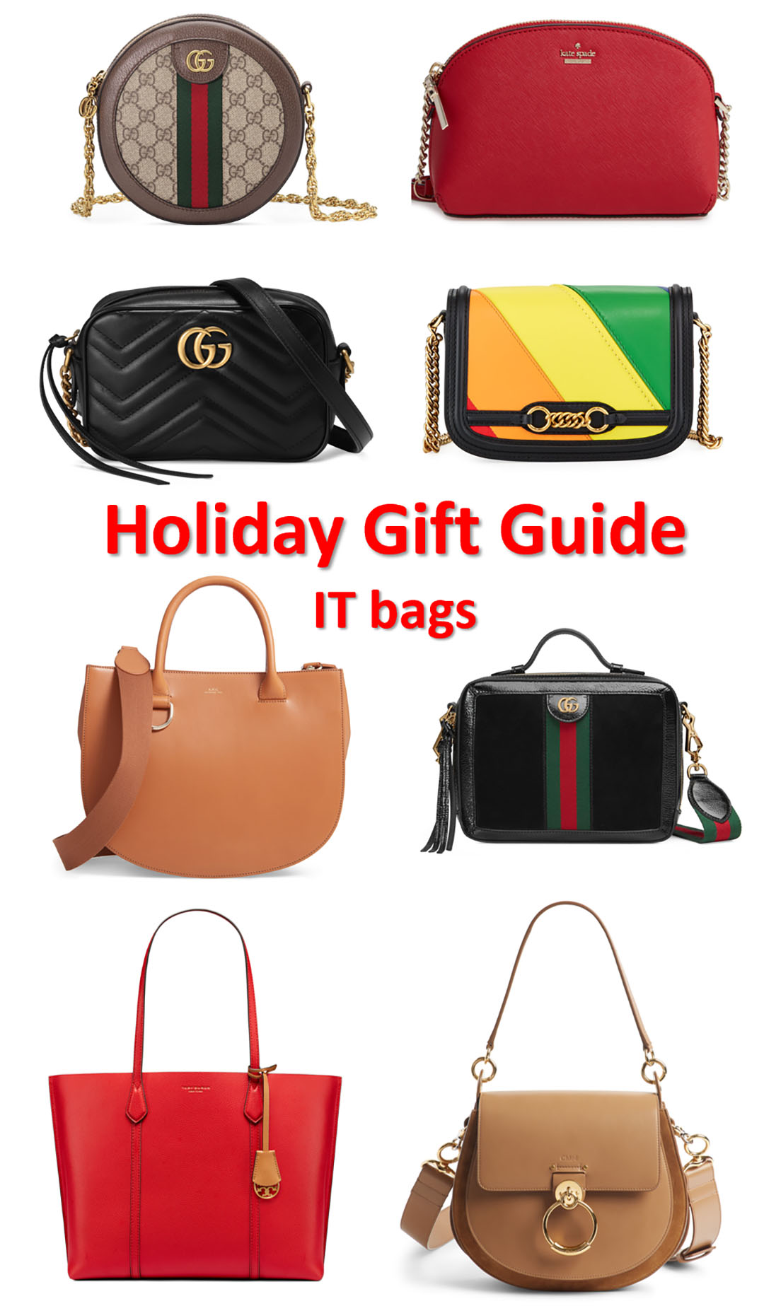 holiday gift guide handbag it bag gift ideas 2018