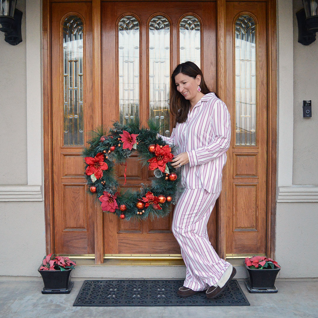cozy holiday pajamas