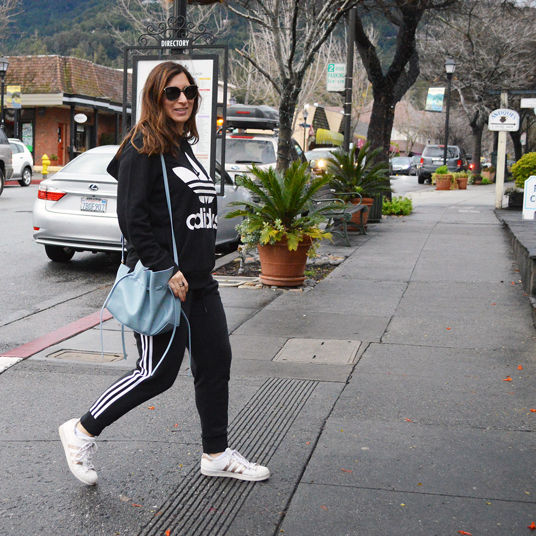 adidas athelisure street style