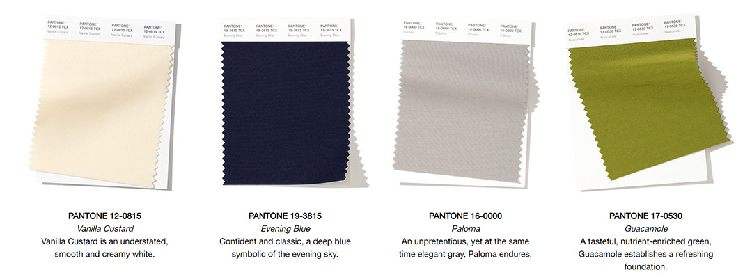 pantone colors fall 2019