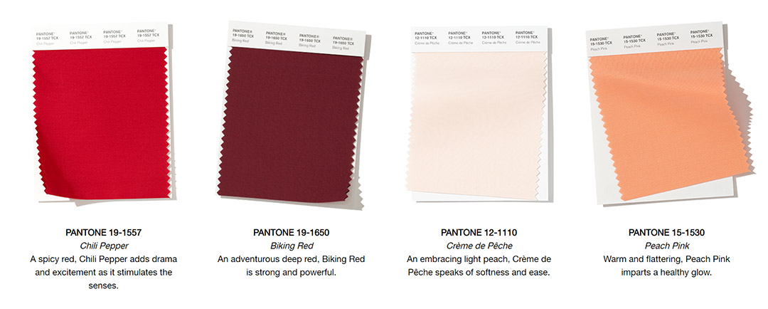 fall 2019 color trends nyfw pantone