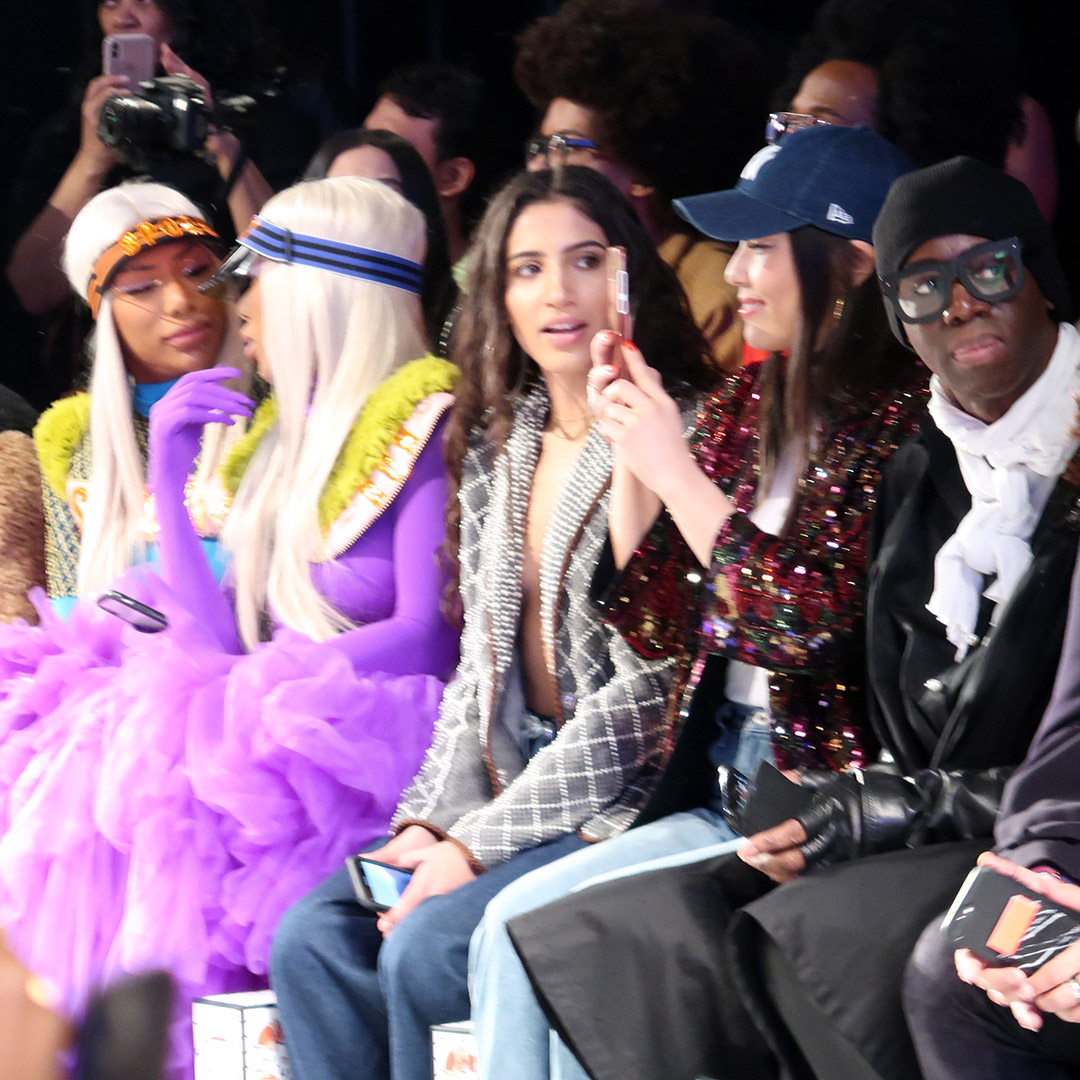 miss jay front row laurence and chico nyfw fw19