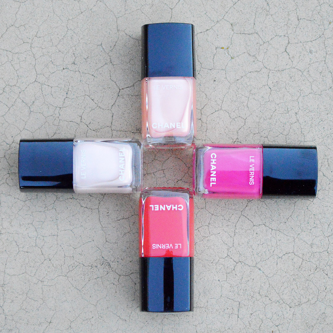 chanel spring act II nail polish