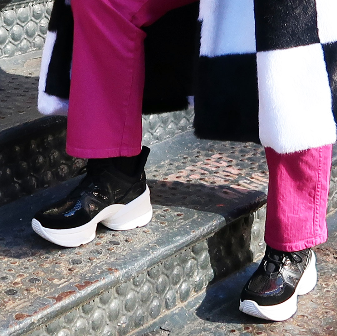 chunky street sneakers shoe trends spring 2019