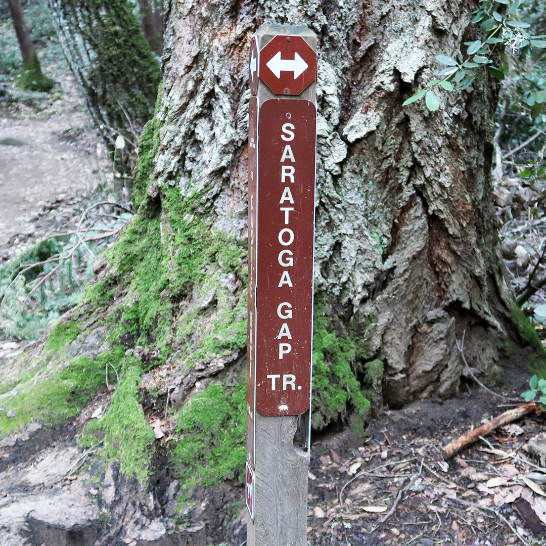 saratoga gap trail