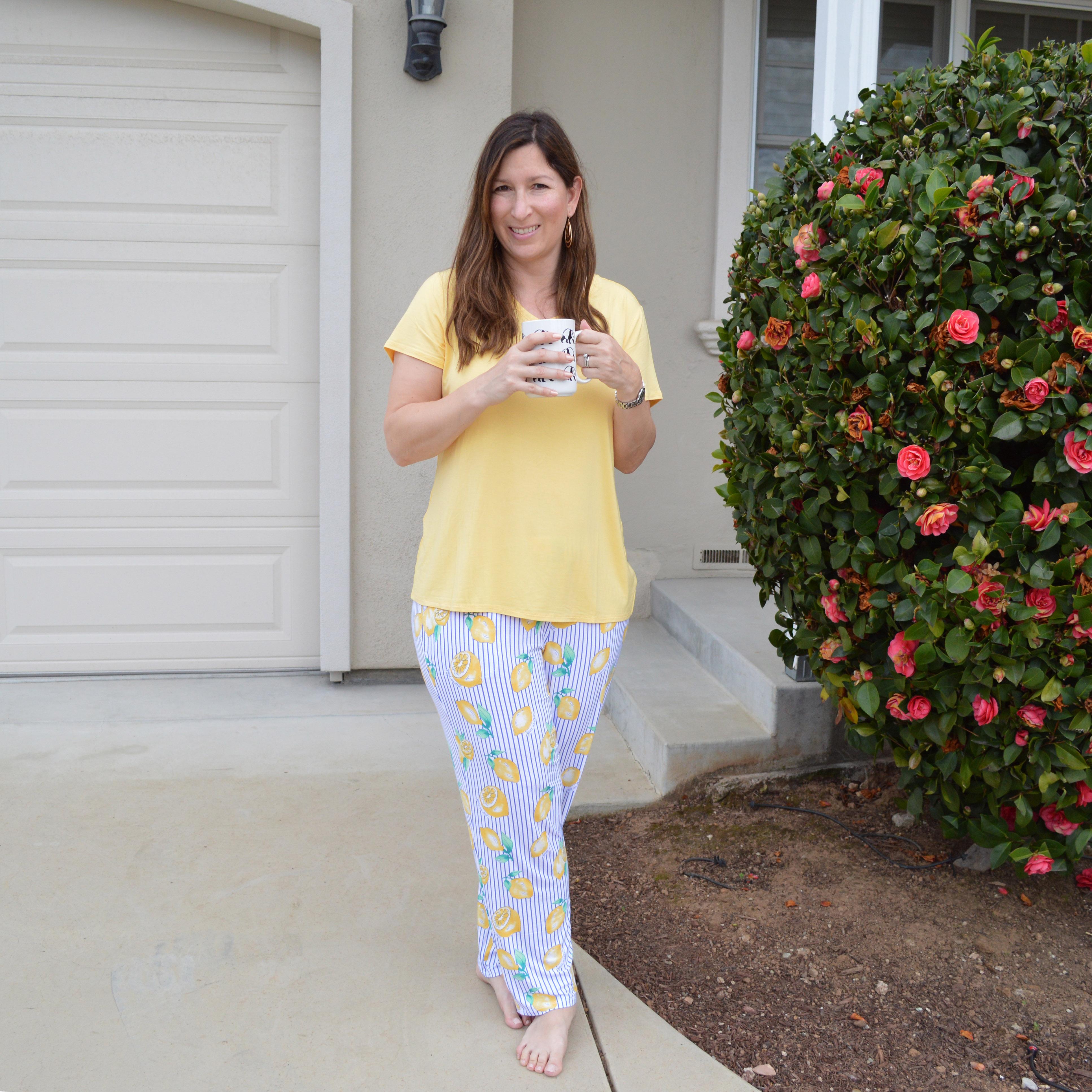 soma spring pajamas
