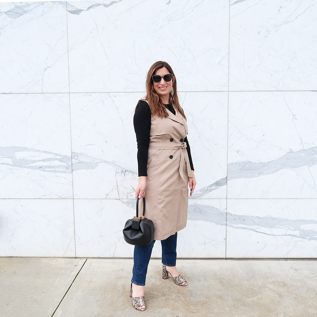 spring trench coat trend