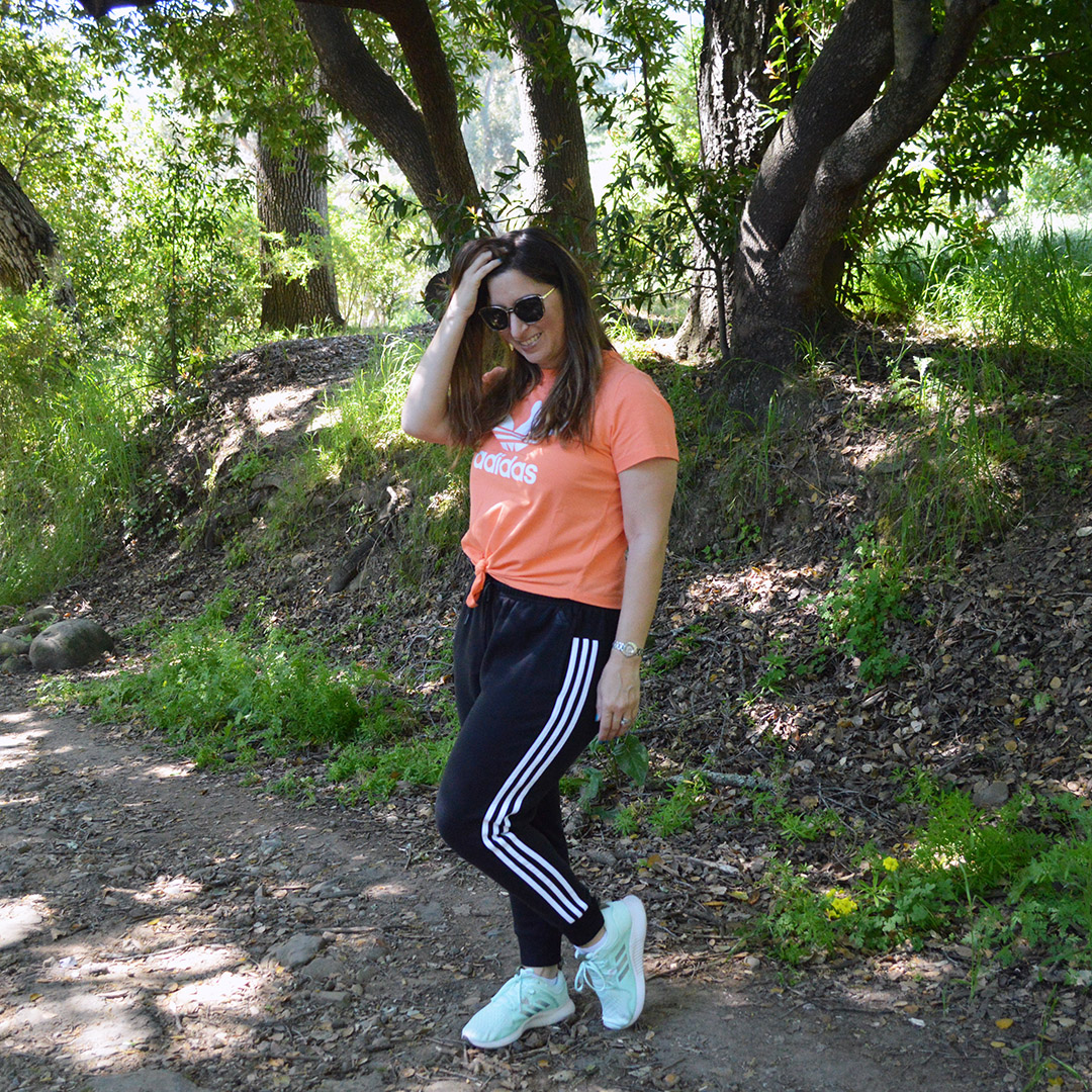 adidas athleisure workout clothing