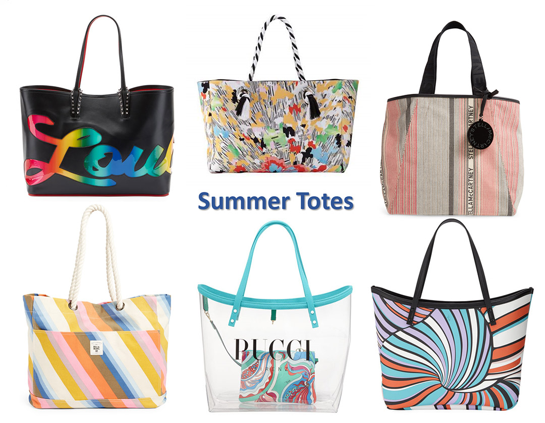 summer 2019 tote bags