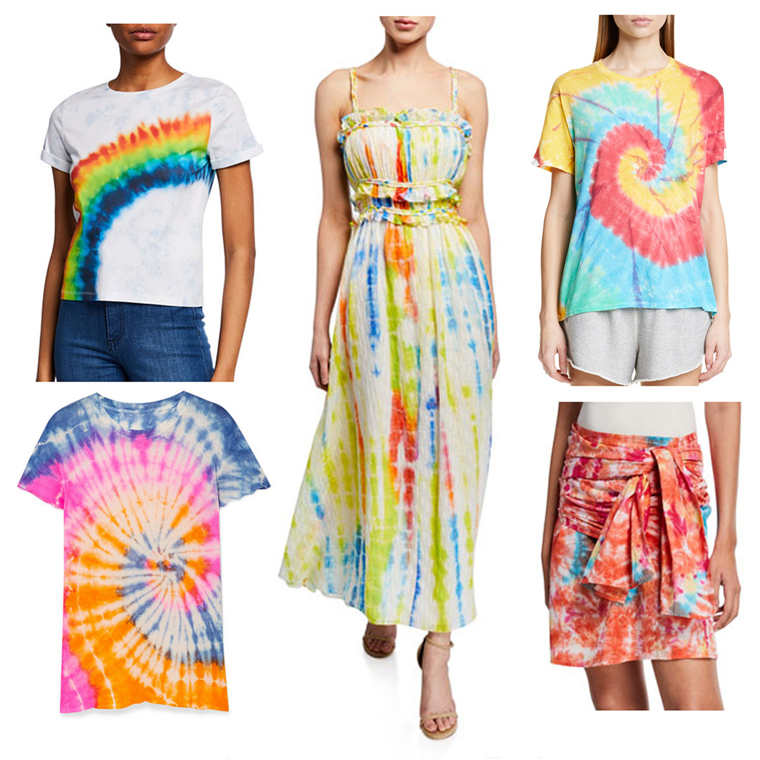 spring 2019 fashion trends tie dye trend