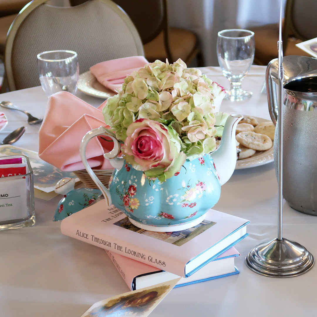 tea centerpieces ideas