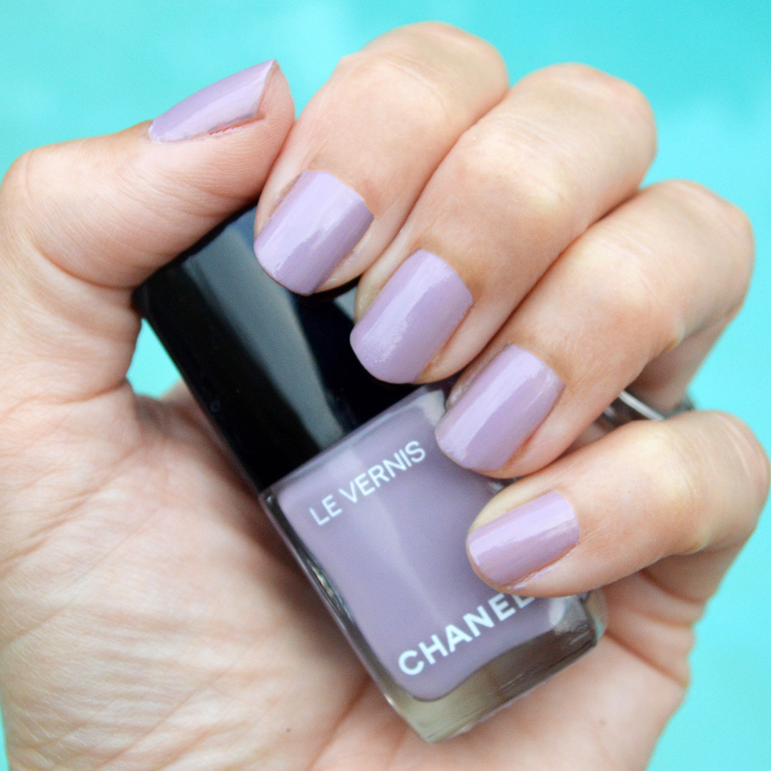 chanel purple ray nail polish cruise 2020 summer 2019