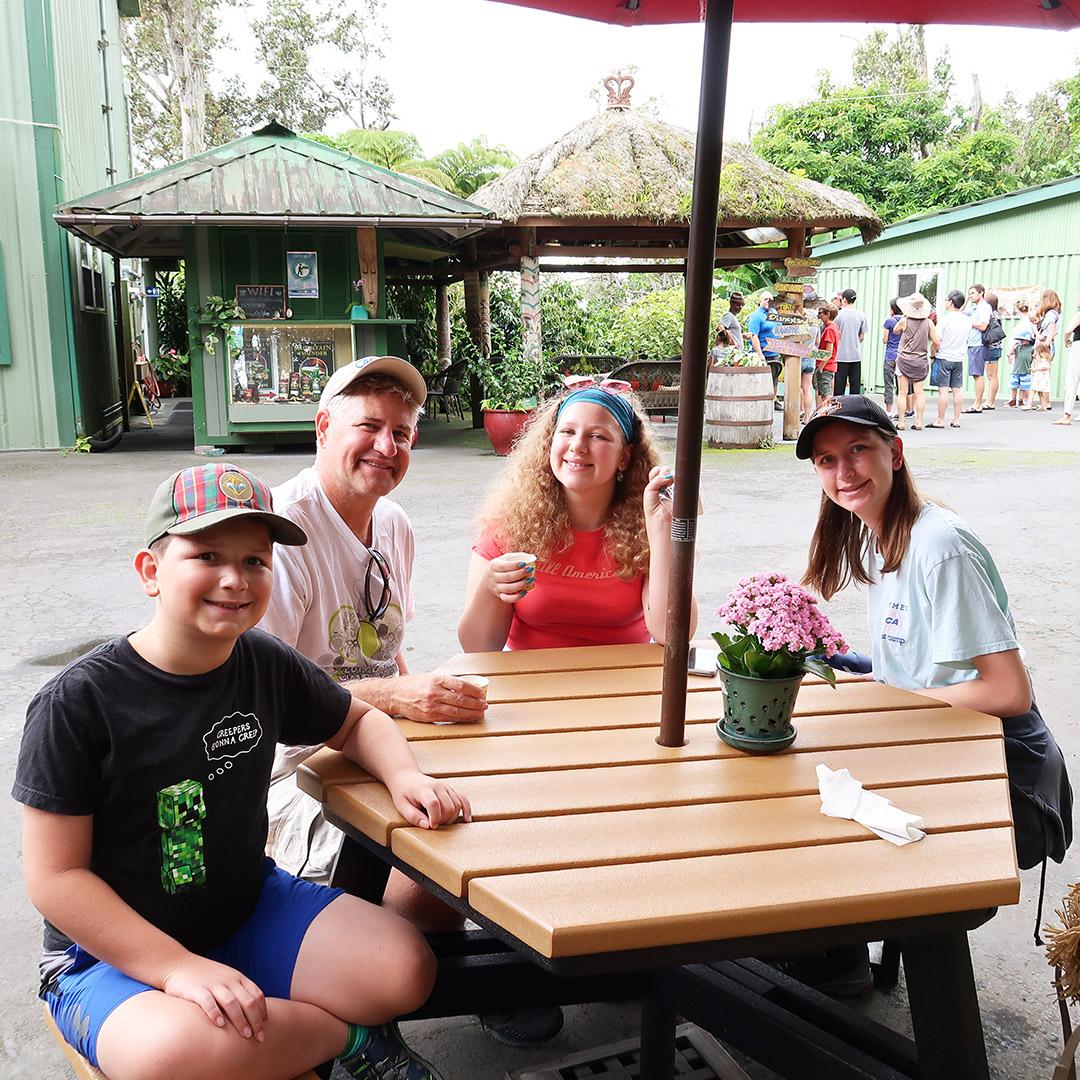 family coffee farm tour kona