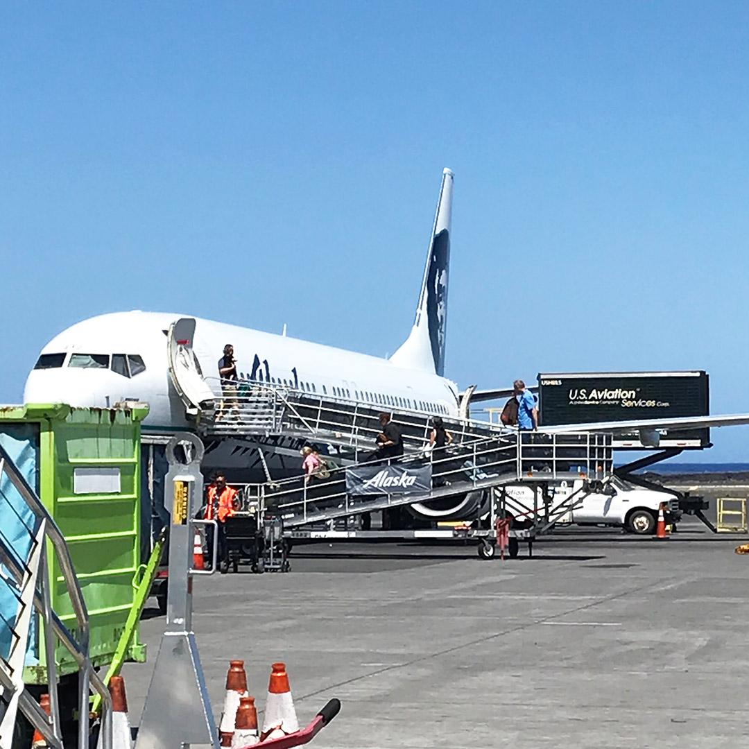 kona airport alaska airlines