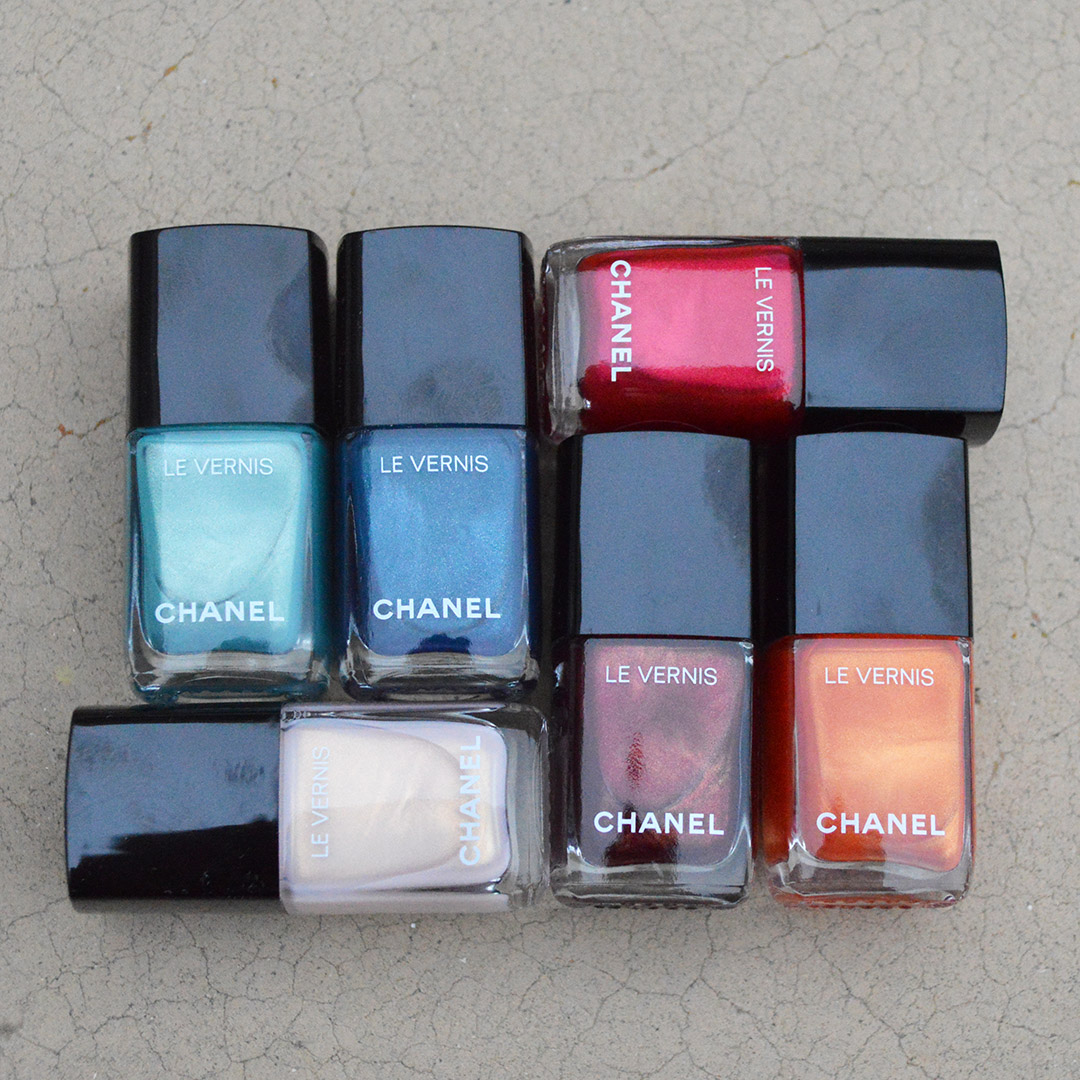 chanel summer 2019 nail polish review