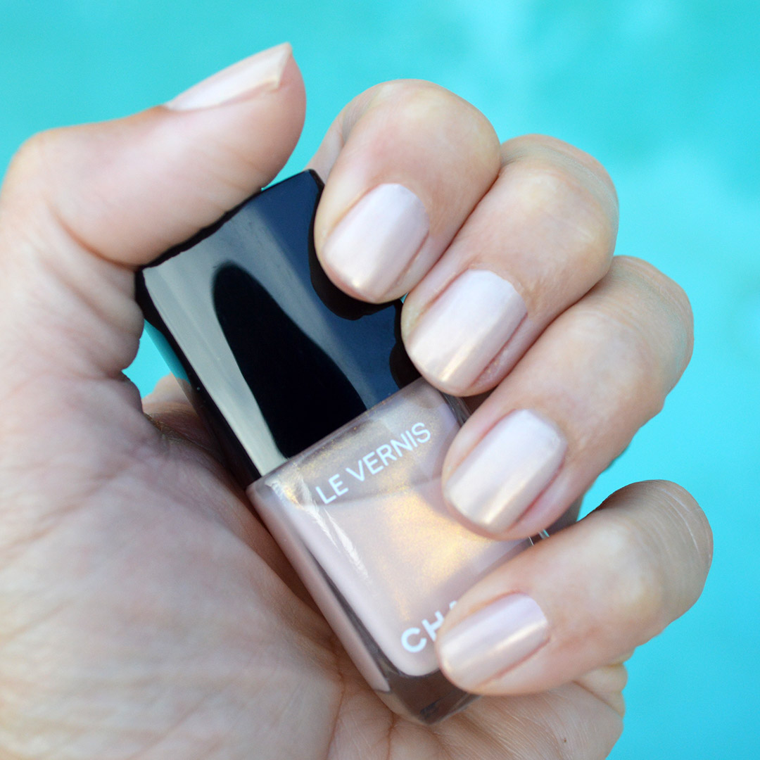 chanel radiant ballerina nail polish summer 2019
