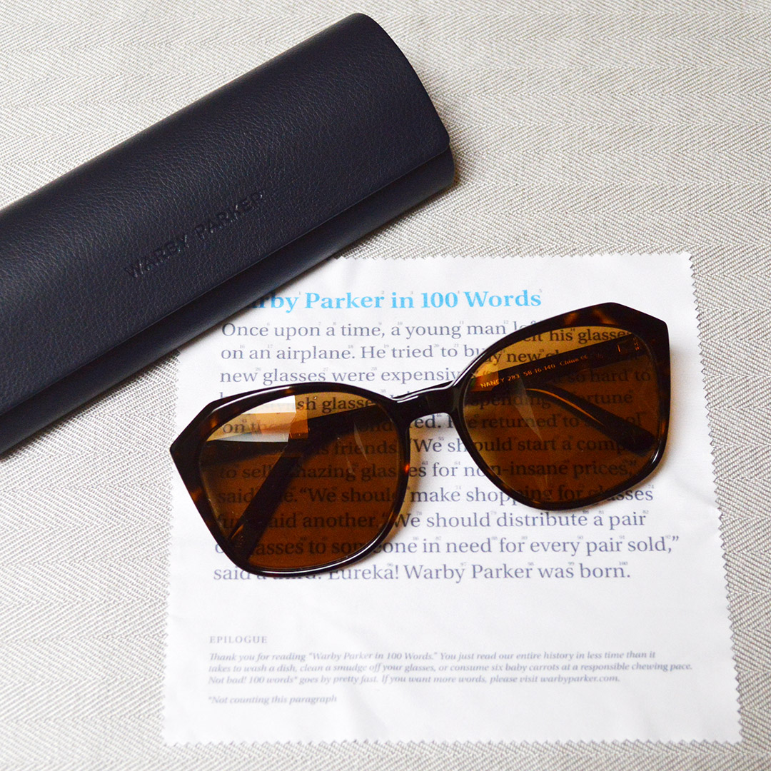 warby parker nancy sunglasses review