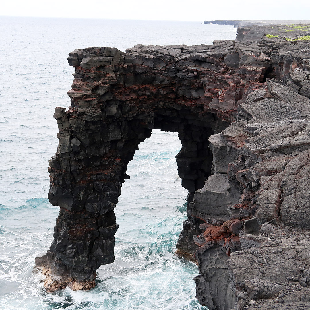 famous sea arch hawaii