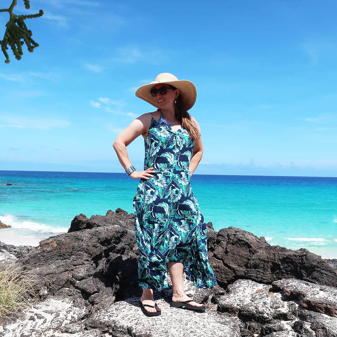 swimsuit outfit ideas hawaii over 40