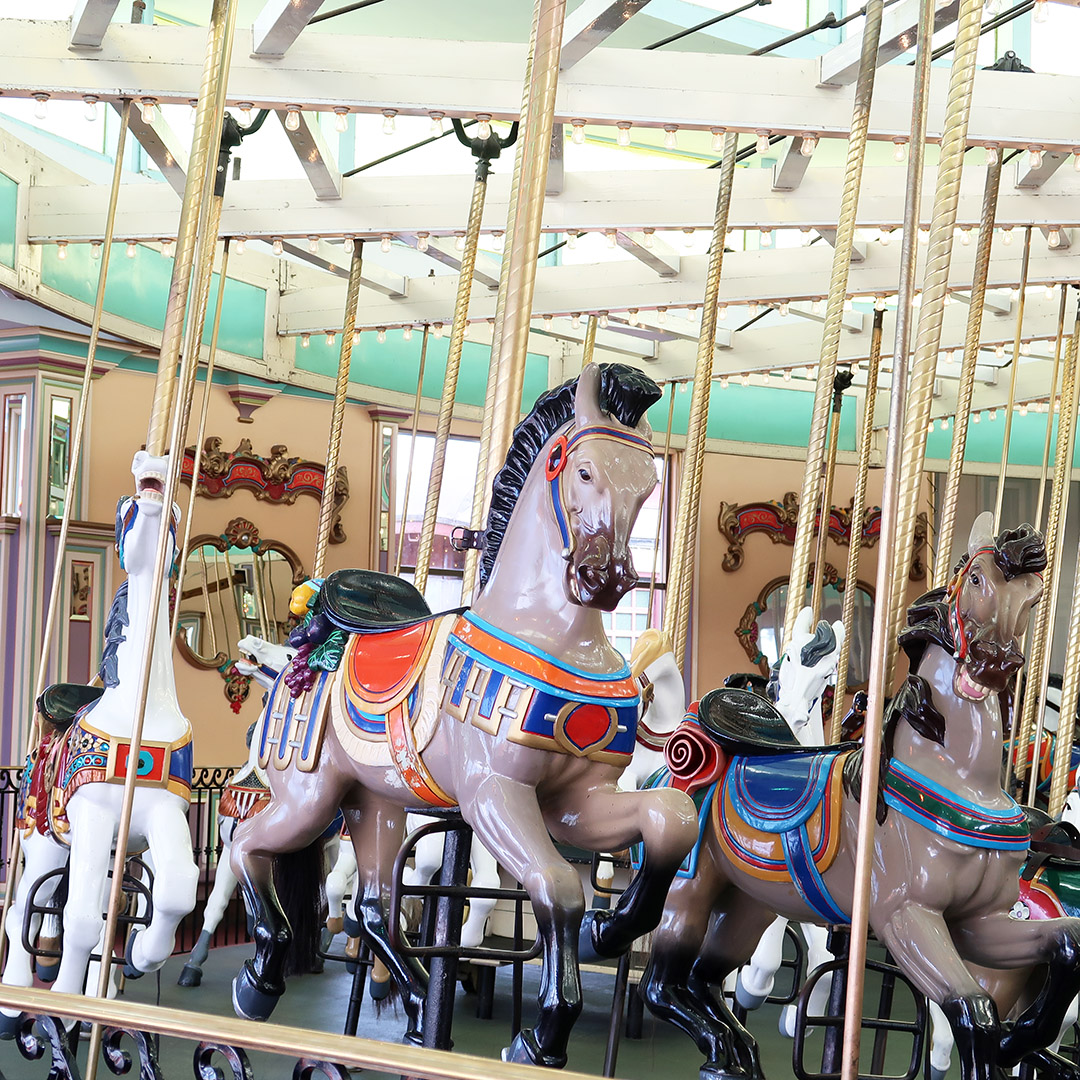santa cruz historic merry go round