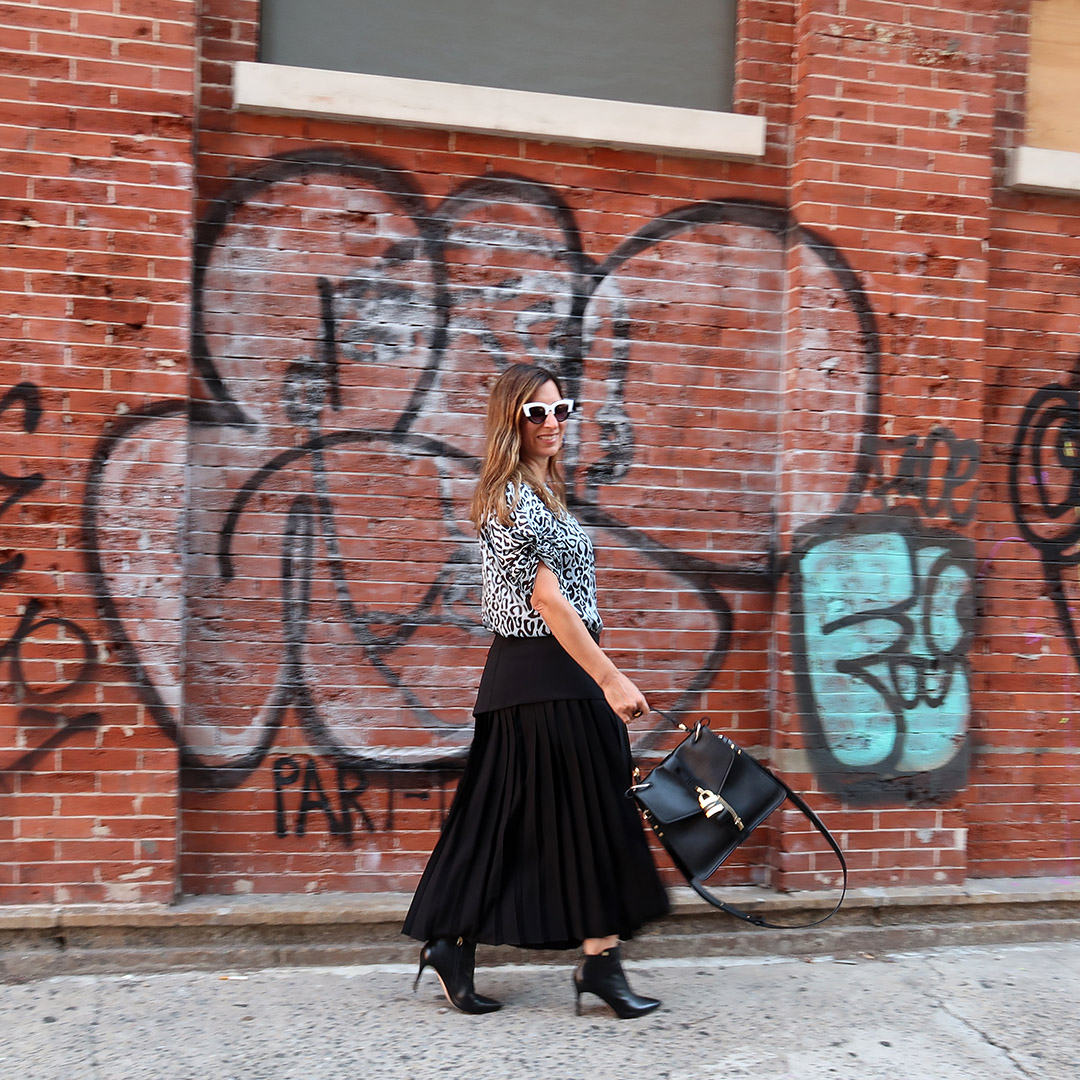 rebecca minkoff nyfw street style
