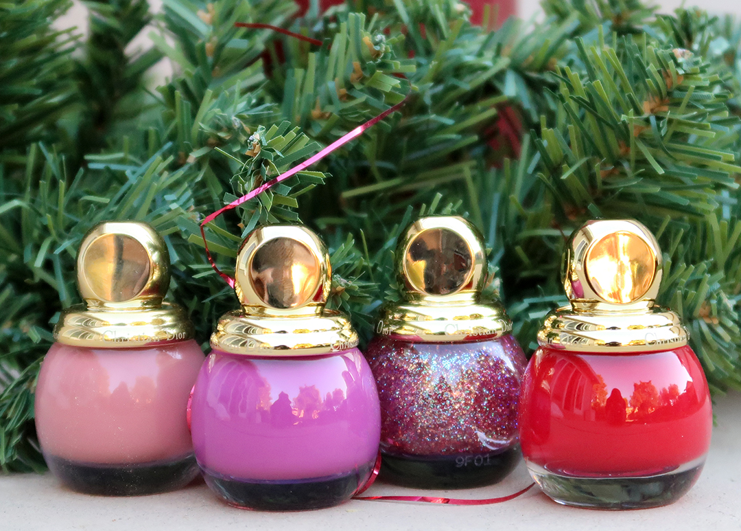 diorrific holidays 2019 nail polish collection