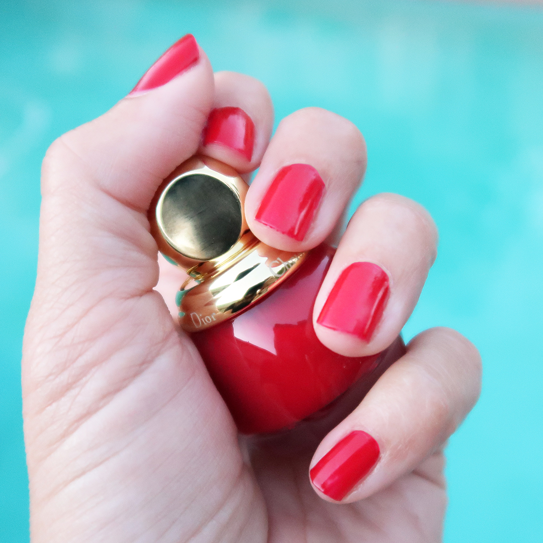 Diorrific Passion nail polish holidays 2019