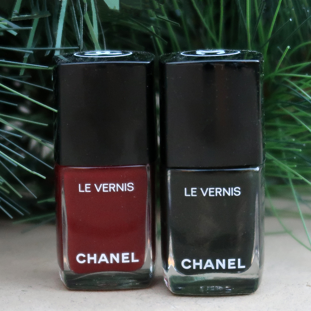 chanel nail polish collection holidays 2019