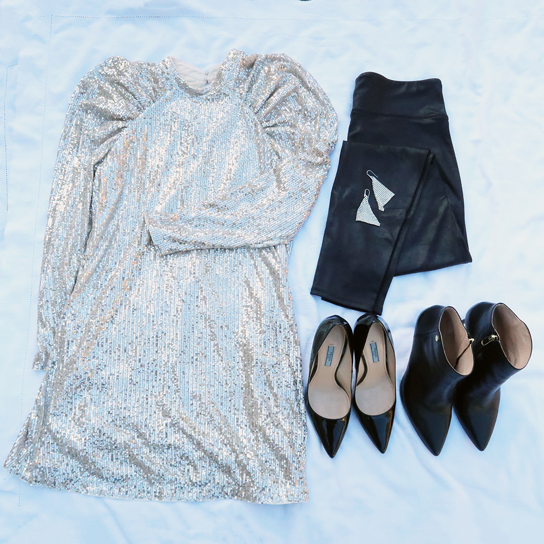 holiday party capsule wardrobe