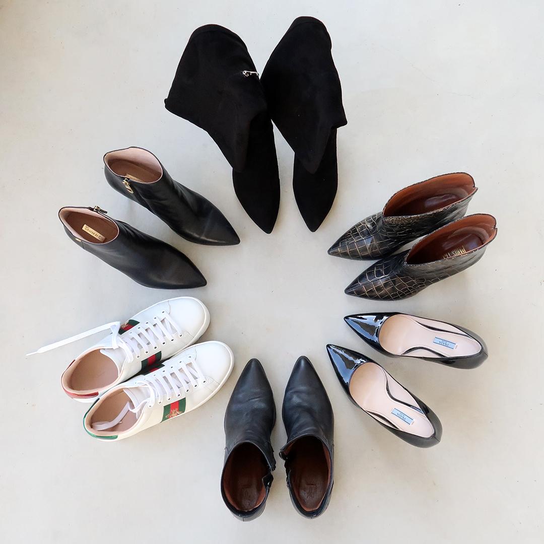 holidays 2019 shoe wardrobe