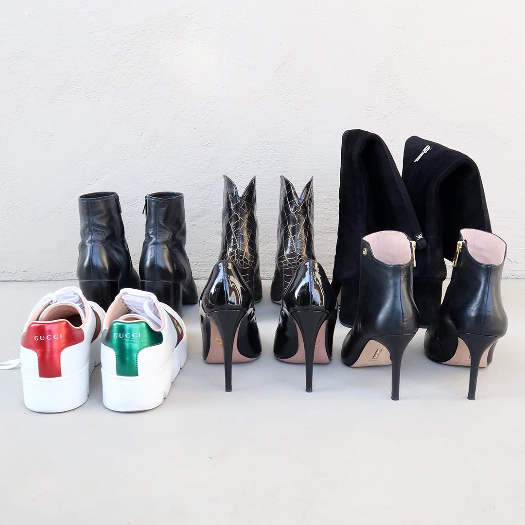 shoe capsule wardrobe
