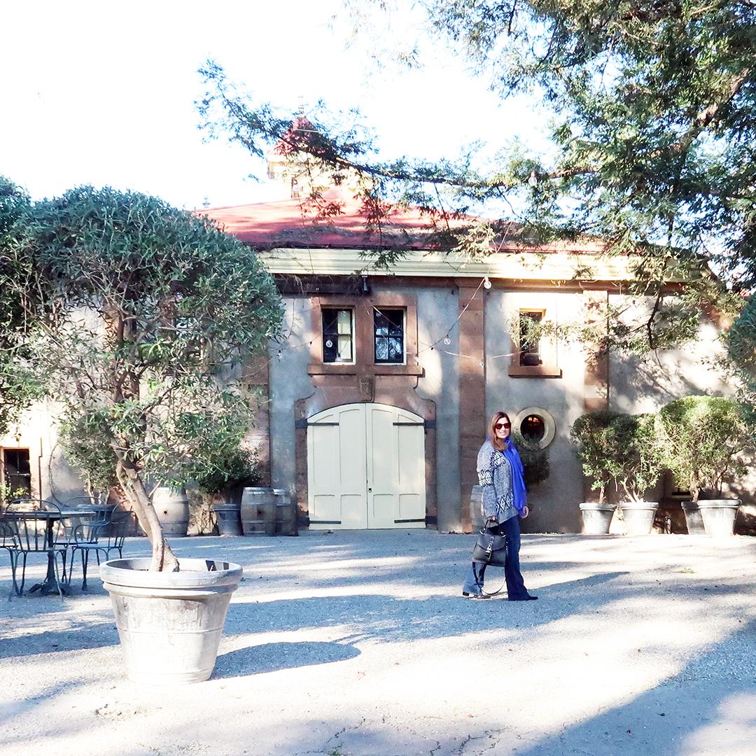 napa winery street style