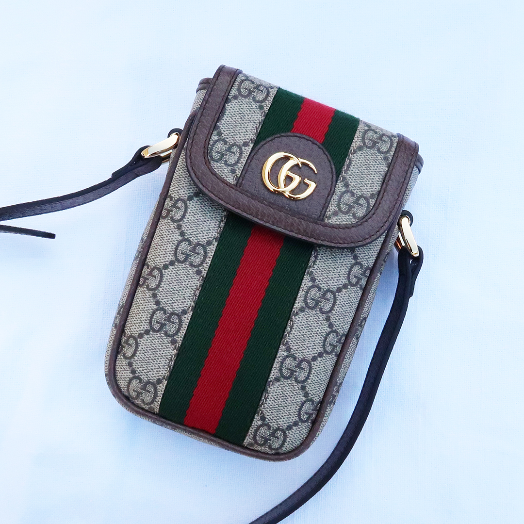 gucci phone case cross body bag