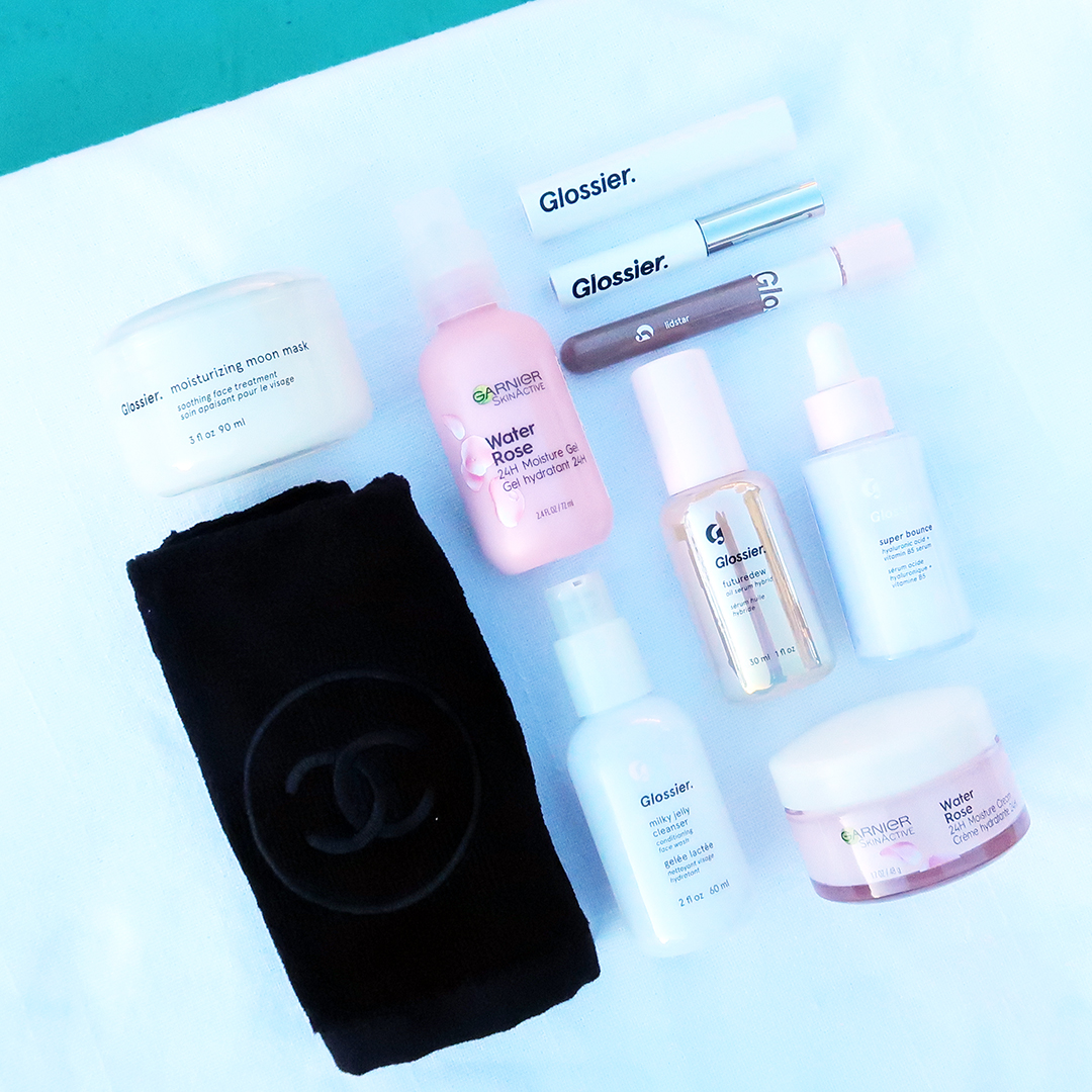 winter 2020 beauty bag