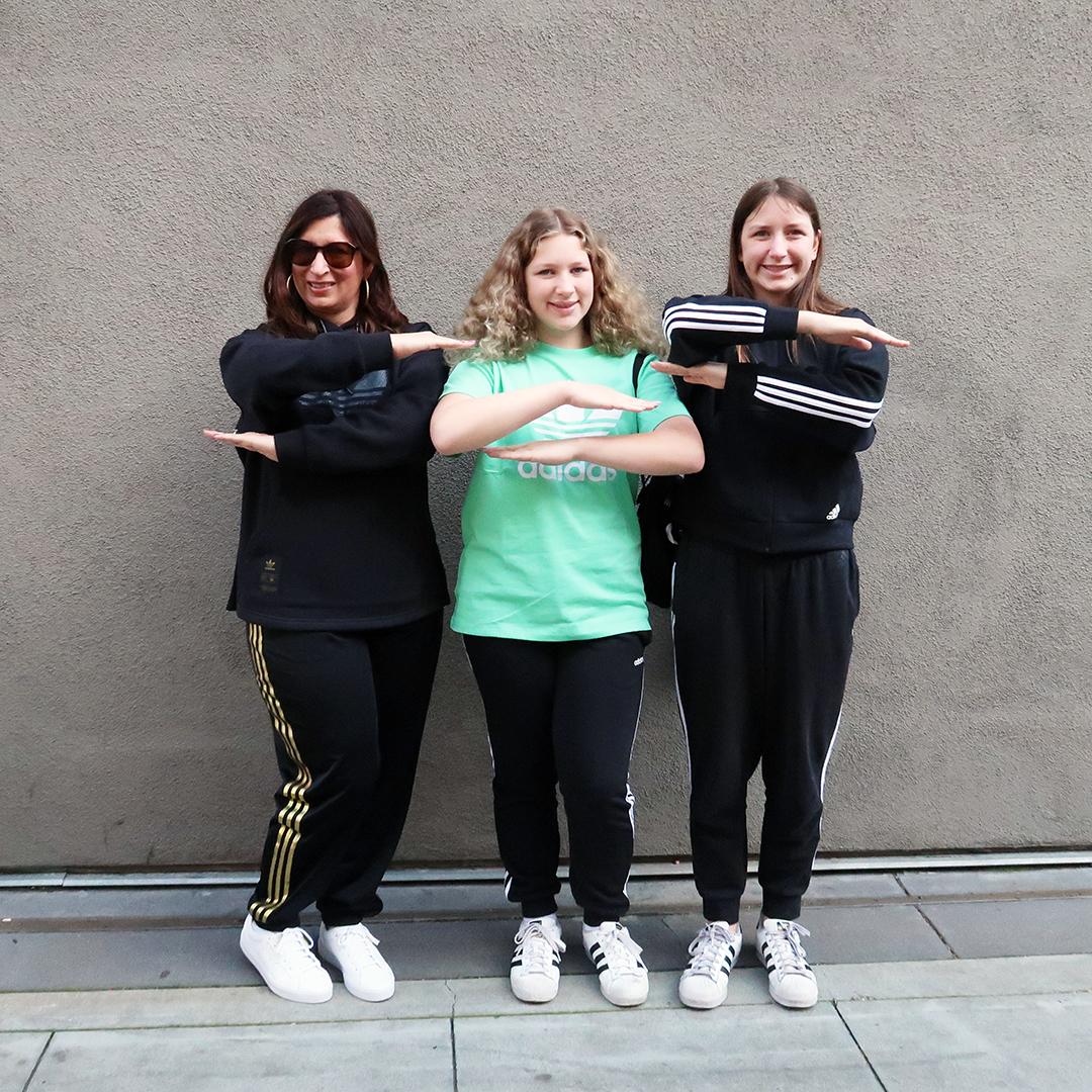 adidas supports women international womens day