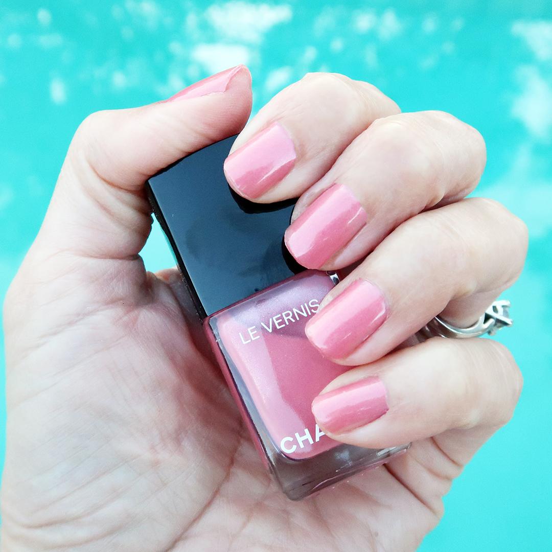 chanel fleur de pecher nail polish late spring 2020