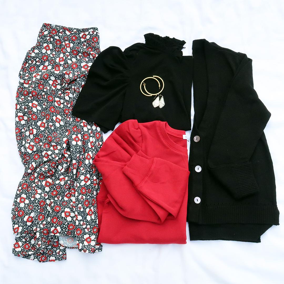 dressy spring capsule wardrobe