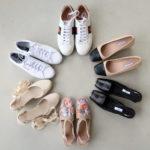 Spring 2020 shoe capsule wardrobe