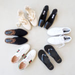 Summer 2020 shoe capsule wardrobe