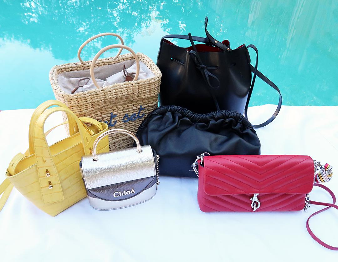 handbag capsule wardrobe summer 2020
