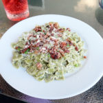 Fast and easy Pasta Alfredo with bacon