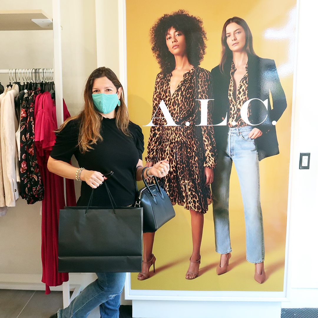 ALC pop-up shop sample sale