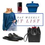 BAF Weekly IT List
